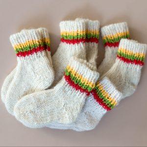 vilnonės-kojinytes